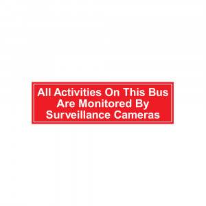 Surveillance Cameras Decal