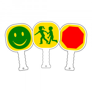 Crossing Guard Paddles
