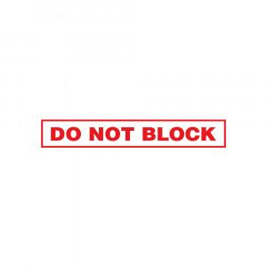 Do Not Block Decal