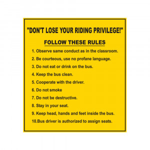 Riding Privilege Decal