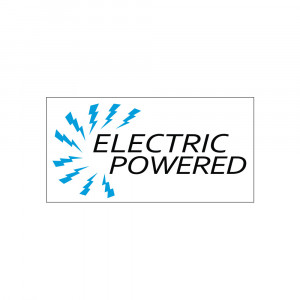Electric Powered Bus Decal