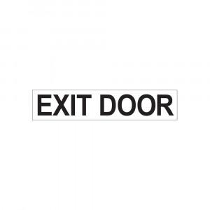 Exit Door Decal