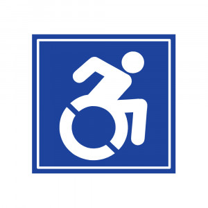 Handicapable Decal
