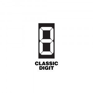 Replacement Classic Digit for Route Changer™ CLASSIC Signs