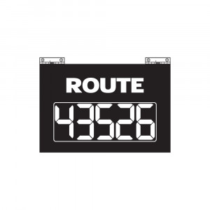 Route Changer™ Classic with Hinges, 5 Digits