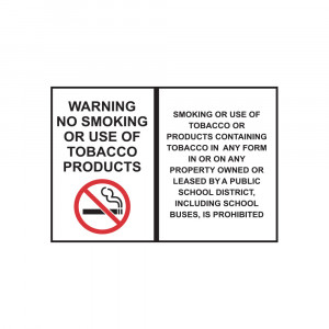 Smoking Prohibited Decal
