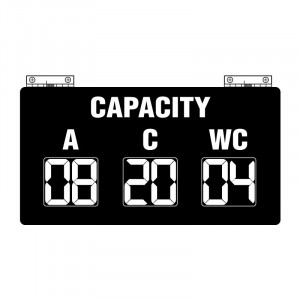 Route Changer™ Bus Capacity Sign