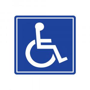 Handicap Sign Decals