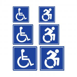 Magnetic Handicap Symbols