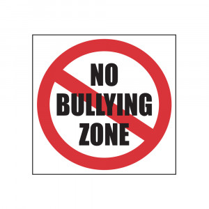 No Bullying Zone Decal
