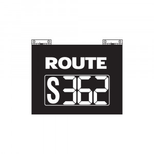 Route Changer™ Classic with Hinges and Stationary Letter