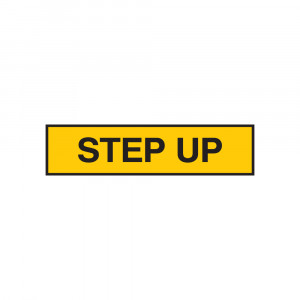 Step Up Decal