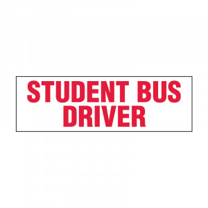 Student Bus Driver